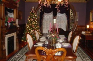 Seiberling Mansion - Dining Room