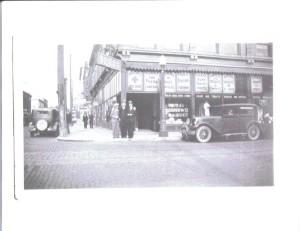 Downtown Kokomo in the 1920's