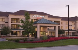 Courtyard by Marriott outside