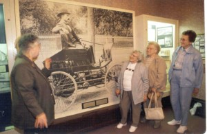 Group tour at the Elwood Haynes Museum
