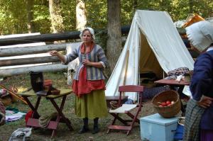 KohKohMah & David Foster Living History Encampment