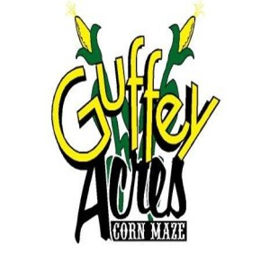 Guffey Acres Name Logo