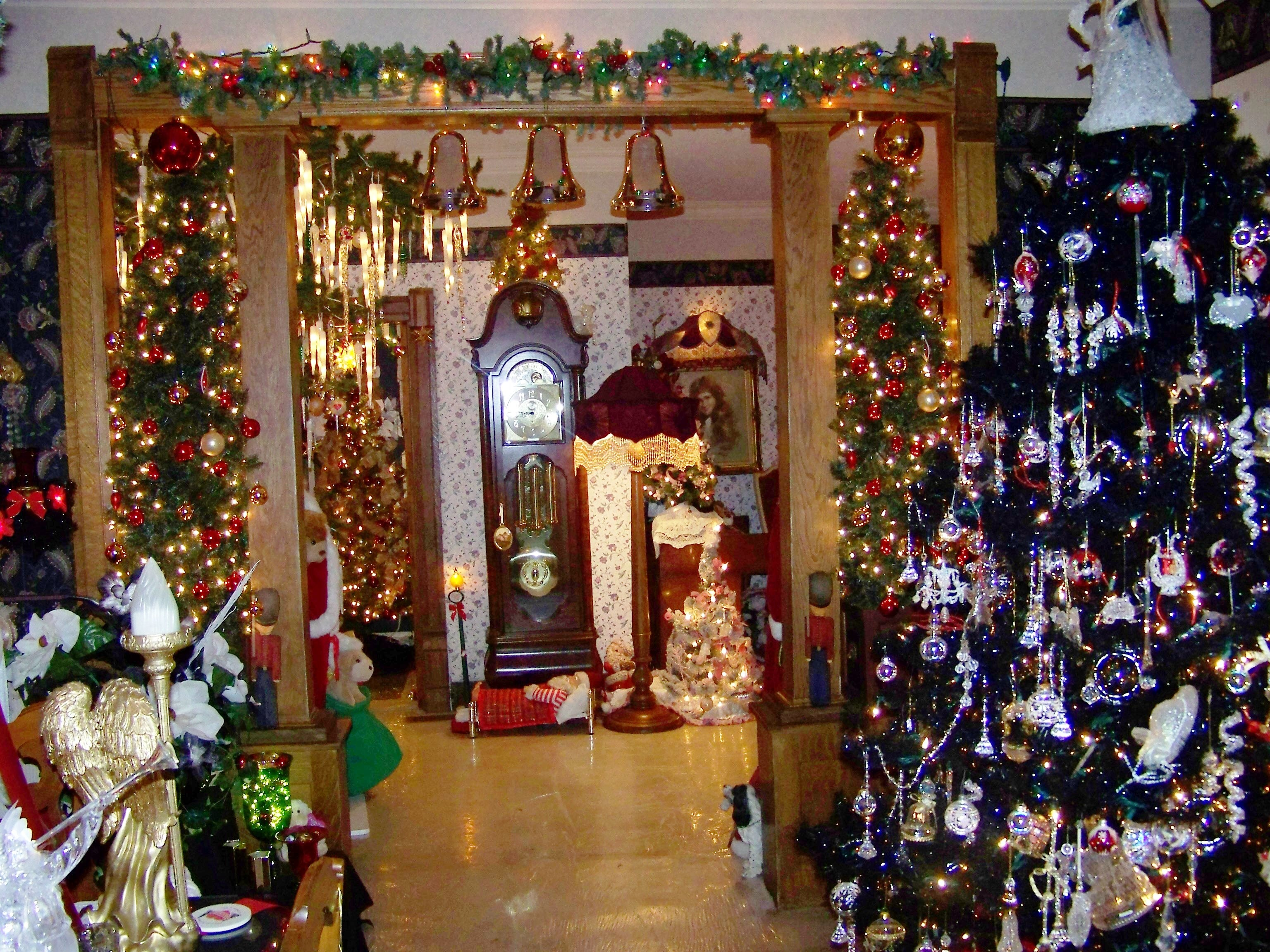 Most Home Inside Christmas Decorated Beautiful