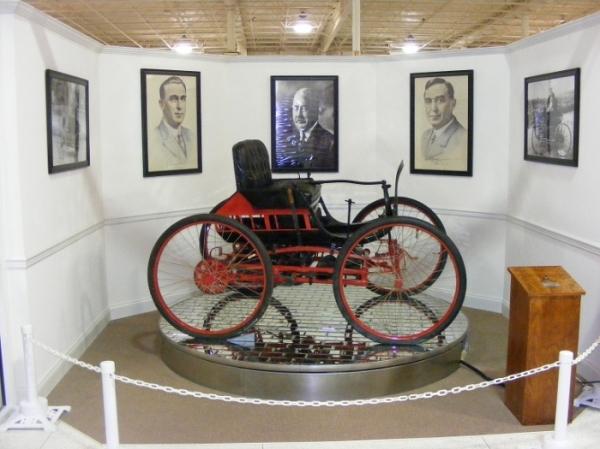 Auto Museum Haynes Car Exhibit