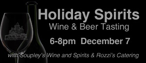 holiday spirits wine tasting