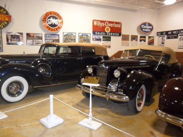 Auto Museum Packard exhibit 2