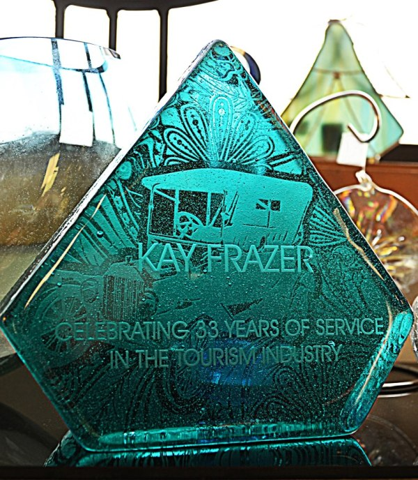 Kay Frazer retirement award