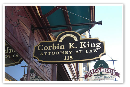 Law Office of Corbin King