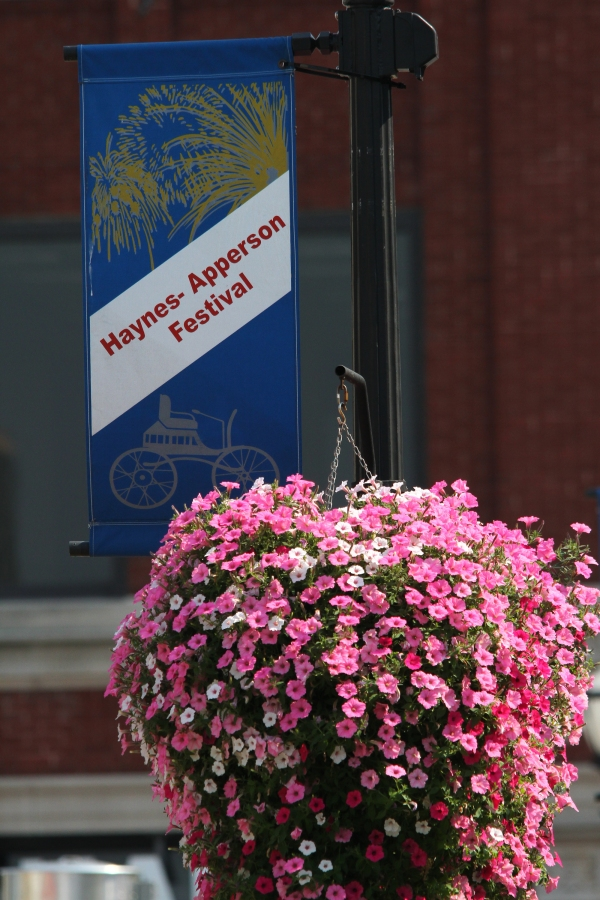 Haynes Apperson Festival banner