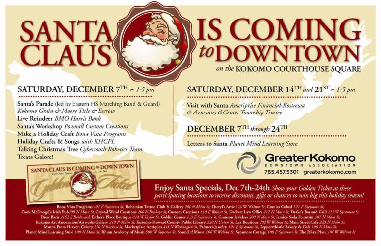 Santa Claus is Coming to DT