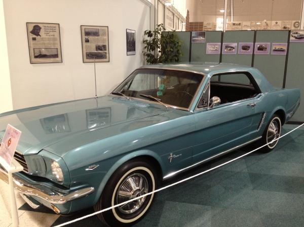 Mustang exhibit 1