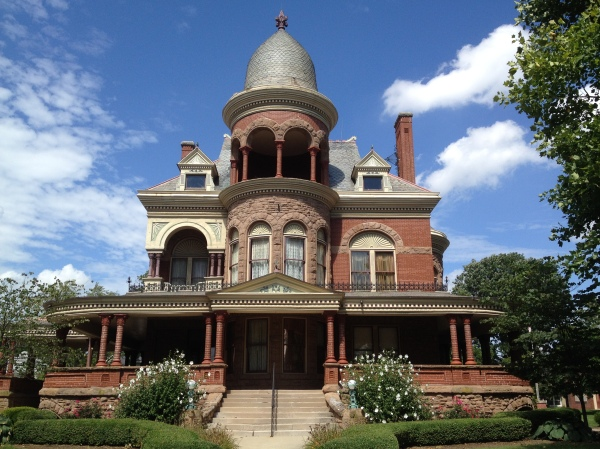 Learn more about local history and Indiana's gas boom at the Seiberling Mansion.