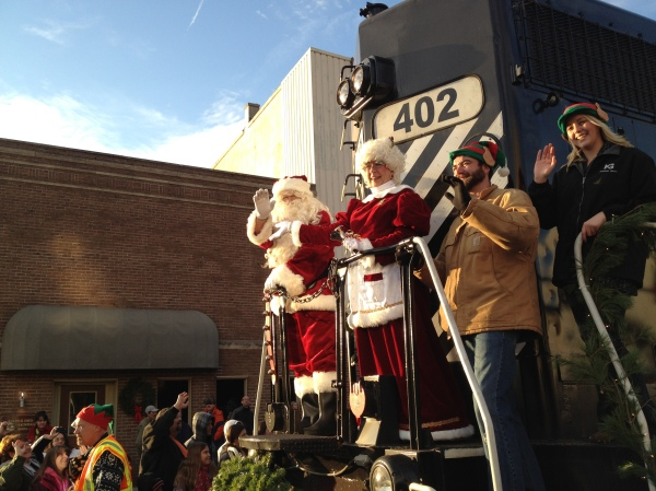 Santa will arrive in Downtown Kokomo during First Friday's Hometown Holiday