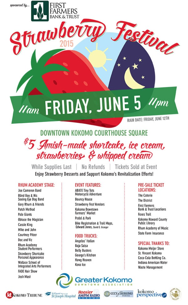 2015 Strawberry Festival poster large