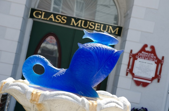 See over 2,000 pieces of glass on display at the Greentown Glass Museum.