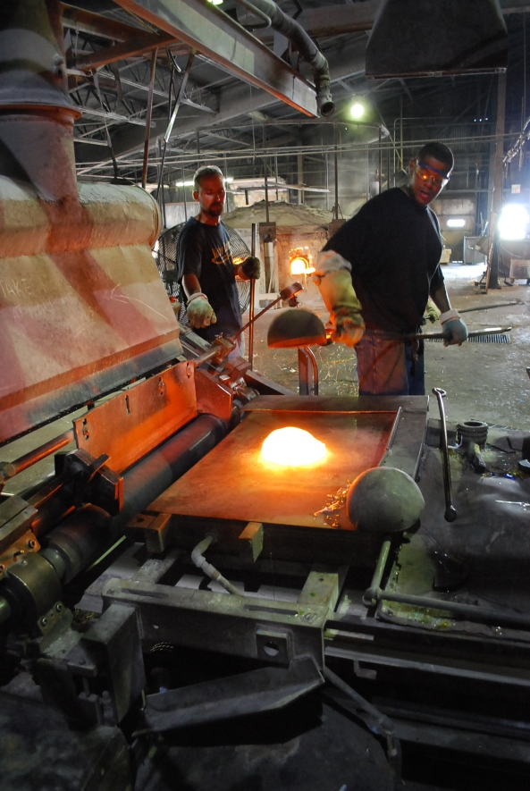 Take the tour to go behind the scenes at Kokomo Opalescent Glass.
